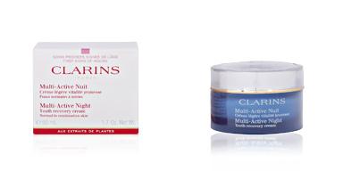 Clarins MULTI-ACTIVE crème légère nuit vitalité jeunesse TP 50 ml
