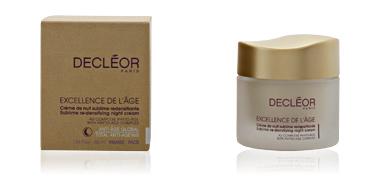 Decleor EXCELLENCE DE L'AGE crème de nuit 50 ml