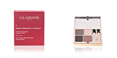 Clarins OMBRES MINERALES 4 couleurs #11-forest 5.8 gr
