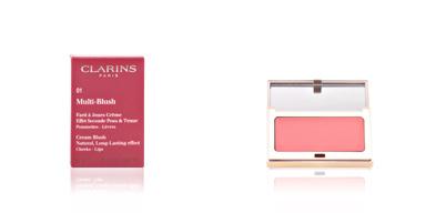 Clarins MULTI-BLUSH fard à joues crème #01-peach 4 gr