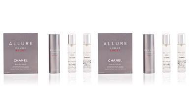 Chanel ALLURE HOMME SPORT eau extrême vaporizador refillable 3 x 20 ml