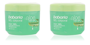 Babaria ALOE VERA 100% natural gel corporal reparador 400 ml