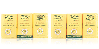 Heno De Pravia JABON NATURAL SET 3 pz