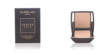 Guerlain PARURE GOLD fdt compact #01-beige pâle 10 gr