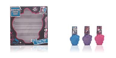 Monster High SCREAM TEAM NAIL POLISH CASE 3 pz