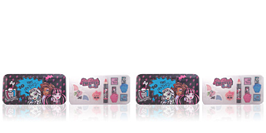 Monster High GHOULFRIENDS FOREVER BEAUTY TIN CASE 7 pz