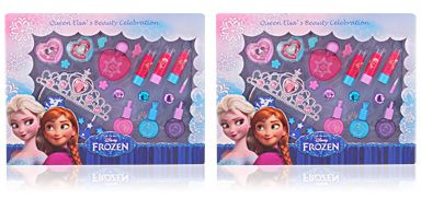 Disney QUEEN ELSA'S BEAUTY CELEBRATION SET 19 pz