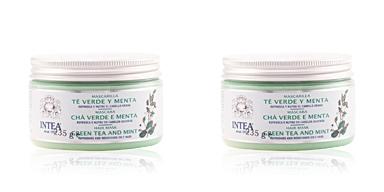 Azufre Veri TÉ verde & MENTA mascarilla cabello graso 250 ml