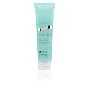 BIOSOURCE gelée nettoyante exfoliant tonifiant PNM 150 ml