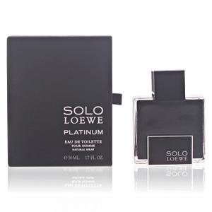 SOLO LOEWE PLATINUM edt vaporizador 50 ml