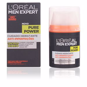 MEN EXPERT pure power hidratante anti-imperfecciones 50 ml