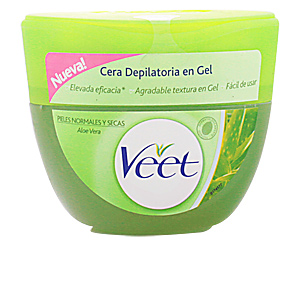 CERA DEPILATORIA en gel aloe vera piel seca 250 ml