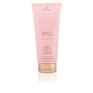 BC OIL MIRACLE rose oil hair & scalp shampoo 200 ml