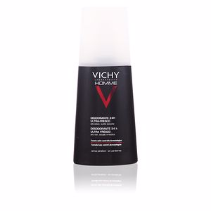 VICHY HOMME déodorant spray 24h ultra frais 100 ml