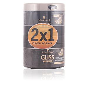 GLISS ULTIMATE REPAIR MASK LOTE 2 pz