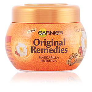 ORIGINAL REMEDIES mascarilla argán y camelias 300 ml
