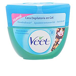 CERA DEPILATORIA en gel aceite almendras piel sensible 250ml