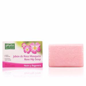 PHYTO NATURE pastilla jabón rosa mosqueta 120 gr