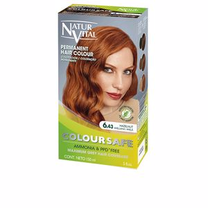 COLOURSAFE tinte permanente #6.43-avellana 150 ml